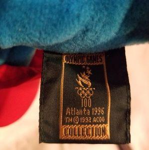 Vintage Toys - Vintage olympic mascot dakin 90s 1990s Izzy Plush